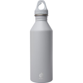 MIZU M8 Bidon with Light Grey Loop Cap 800ml szary